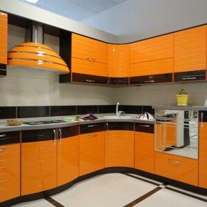 Кухня эмаль Оранж