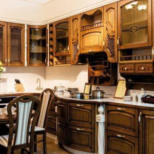 Кухня массив Вишера