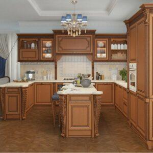 Кухня массив Волга