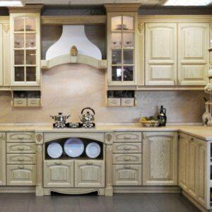 Кухня массив Дюссель