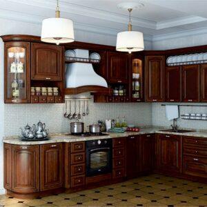 Кухня массив Деми