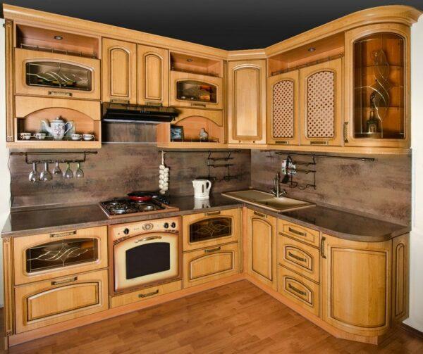 Кухня массив Лимай