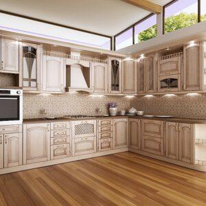 Кухня патина Бристоль