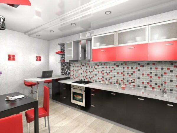 Кухня маленькая Лайма