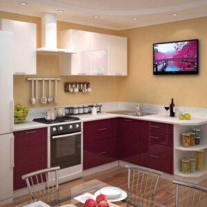 Кухня маленькая Оникс