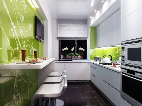 Кухня маленькая Прима Люкс