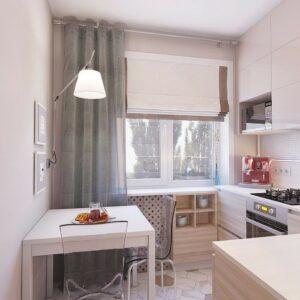Кухня маленькая Оденс
