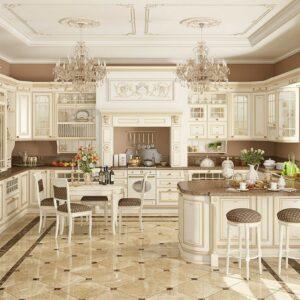Кухня п-образная Инь Янь