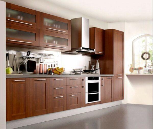 Кухня прямая Фьюджи