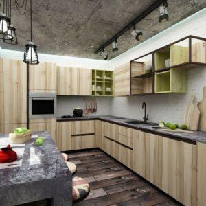 Кухня угловая Пирс