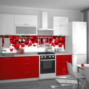 Кухня красная Элиз