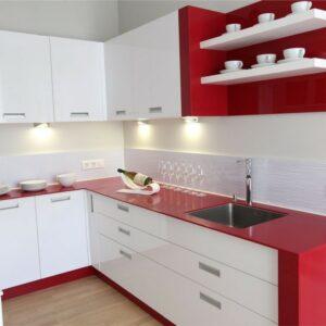 Кухня красная Розали