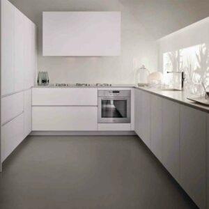 Кухня белая Метропол