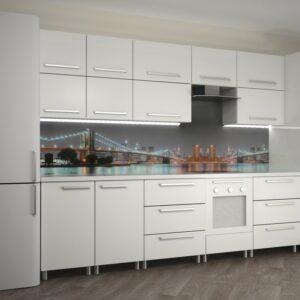 Кухня белая Сантори