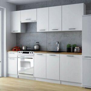 Кухня белая Тейта