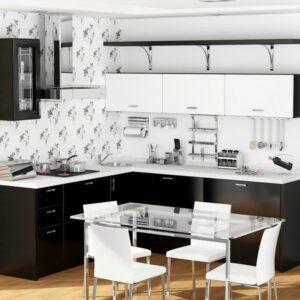 Кухня белая Брауни