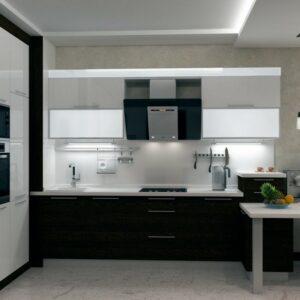 Кухня белая Ницца