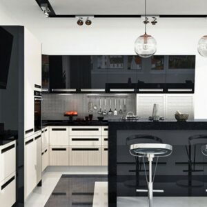 Кухня черная Конни