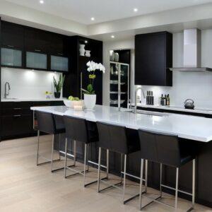 Кухня черная Пенни