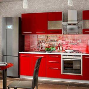 Красная кухня глория