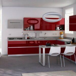 Красная кухня Джин