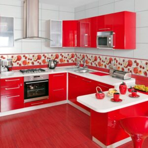 Красная кухня Джули