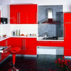 Красная кухня Адамс
