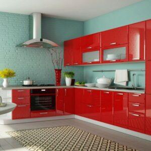 Красная кухня Дэвис