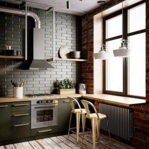 Кухня лофт Джагер