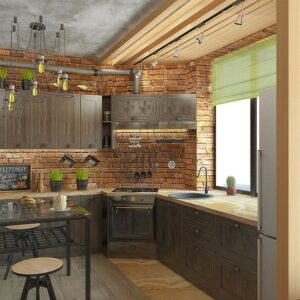 Кухня лофт Кальяри