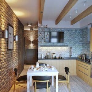 Кухня лофт Парма