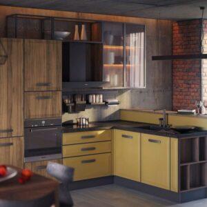 Кухня лофт Венето