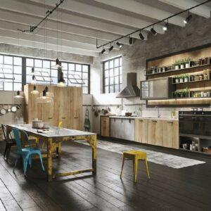 Кухня лофт Идея