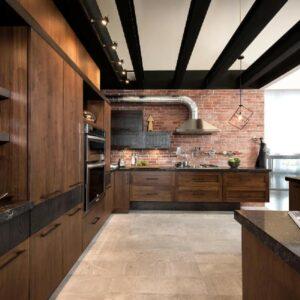 Кухня лофт Гарден