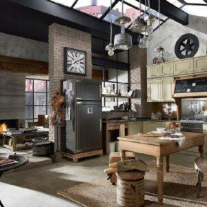 Кухня лофт Веллор