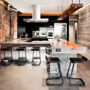 Кухня лофт Маркиза
