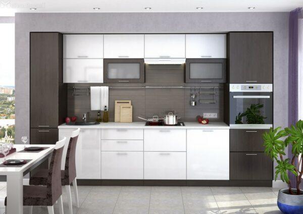 Кухня стильная Вертикаль