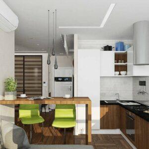 Кухня студия Ориджи