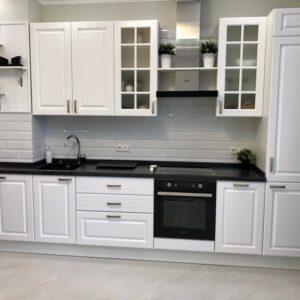 Кухня белая Лидейл