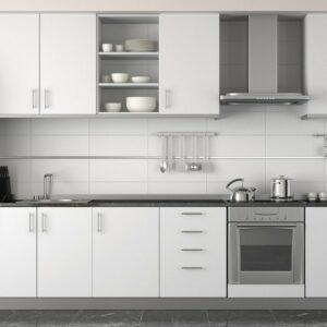Кухня белая Лоран