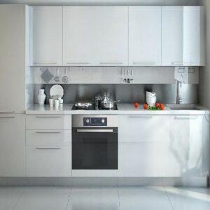 Кухня белая Викторис