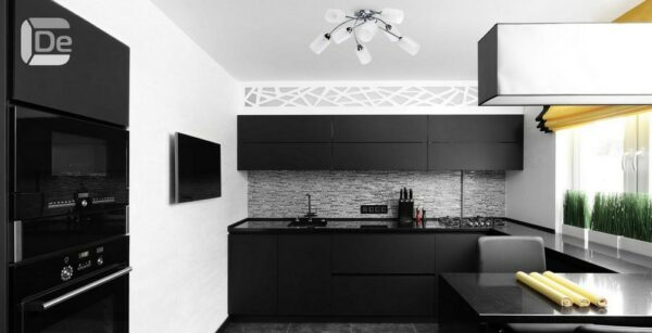 Кухня черная Беатрис