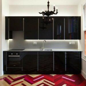 Кухня черная Полин