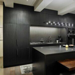 Кухня черная Мур
