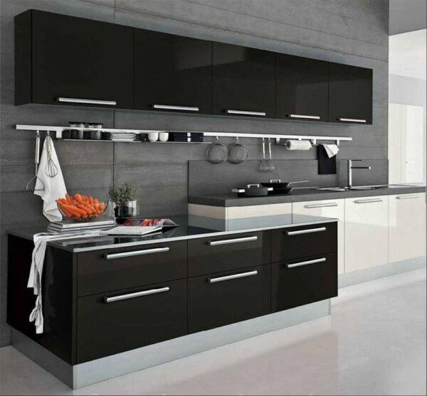 Кухня черная Грацина