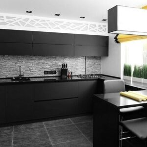Кухня черная Фанни