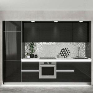 Кухня черная Мартин