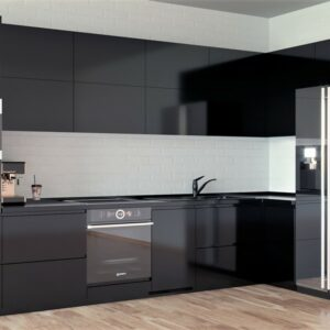 Кухня черная Роберта