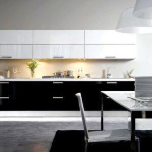 Кухня черная Крайола