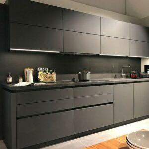 Кухня черная Кампори